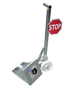 Cale de roue électrique galvanisée à excentrique