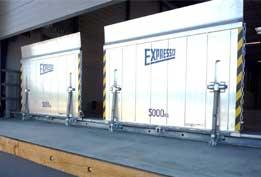 Ponts de liaison à déplacement latéral sur rail - Type 8861