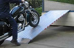 Rampe aluminium pour camion